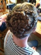 Sands of Ikkera- Braided Fantasy Updo