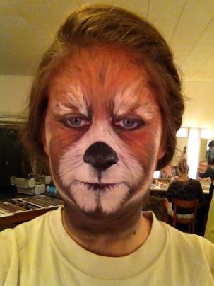 Red Panda- Final Makeup