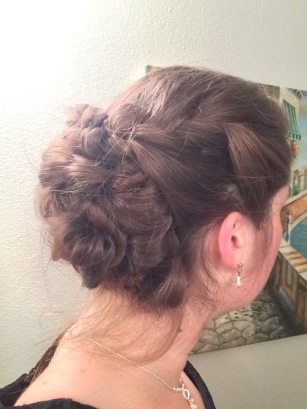 Twisted Updo- Side View