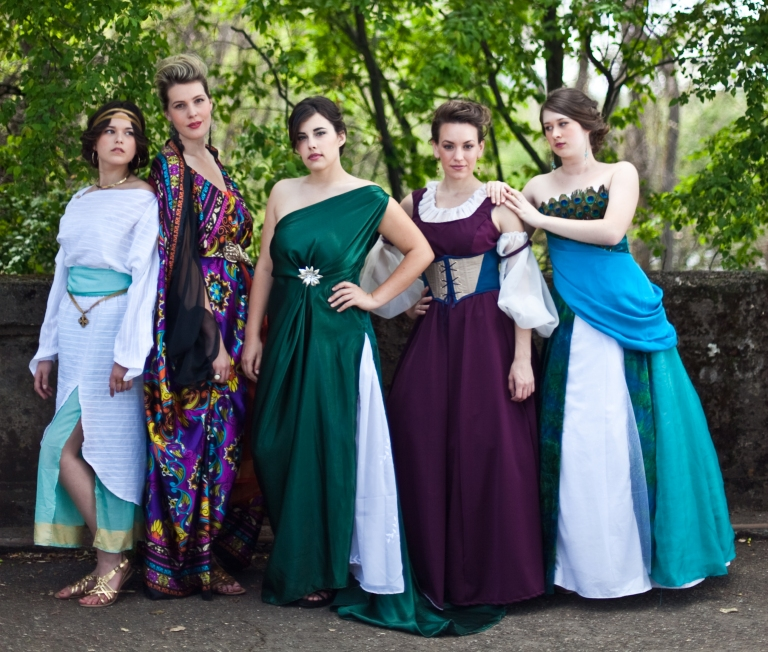 "Partial Adoria ""Formals"" and ""Imaginative"" Collection- Group Shot"