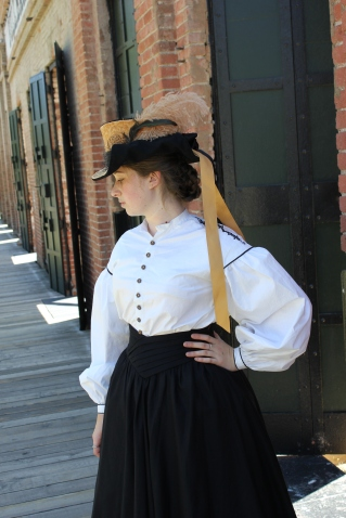 "Garibaldi Blouse and ""Bravery"" Hat"